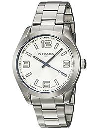 Nivada NP16175MACPA Reloj Análogo, color Plata