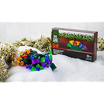 stay off the roof super bright multicolor led christmas lights set multicolored jewel cut