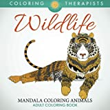 Wildlife: Mandala Coloring Animals - Adult Coloring Book