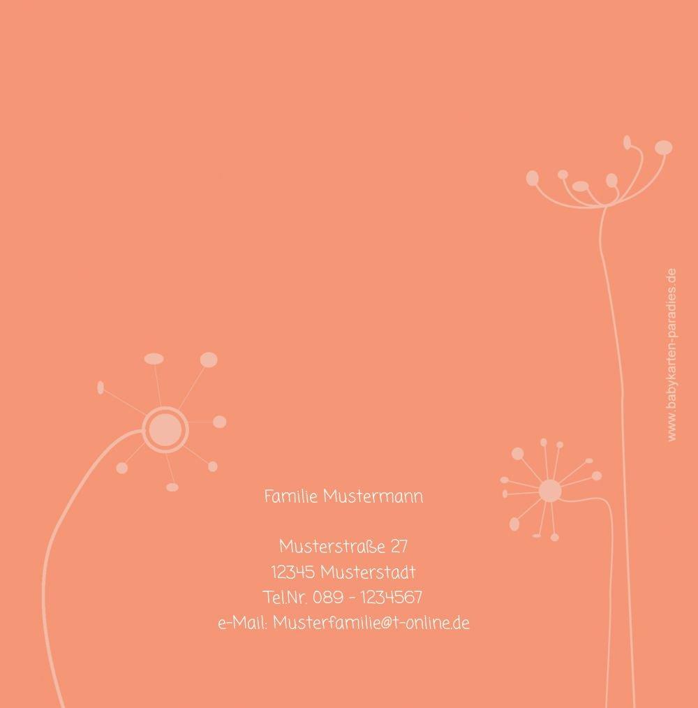 Kartenparadies Danksagung für Geburt Baby Dankeskarte Dankeskarte Dankeskarte abstrakte Blaumen, hochwertige Danksagungskarte Baby inklusive Umschläge   100 Karten - (Format  145x145 mm) Farbe  Orange B01N7Y4PI1 | Offizielle Webseite  | Exquisite (mittlere) Verarbeitu 3830b5