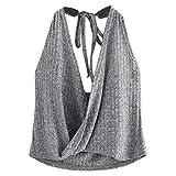 Women's Vest Summer Casual Sleeveless Shirt Tank Top Blouse
