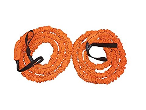 Stroops Son of the Beast Battle Ropes, Orange (47 Lbs. Resistance) 1- Pair (The Beast Slastix Battle Rope)