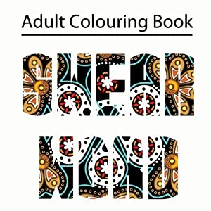 Swear Word Colouring Book Adult Featuring Filthy Words By Books