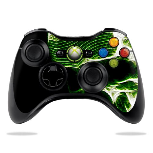 Protective Vinyl Skin Decal Cover for Microsoft Xbox 360 Controller wrap sticker skins Stone Skull