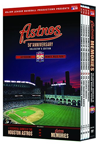 Astros 50Th Anniversary Collector's Edition [DVD] by Football Fanatics
