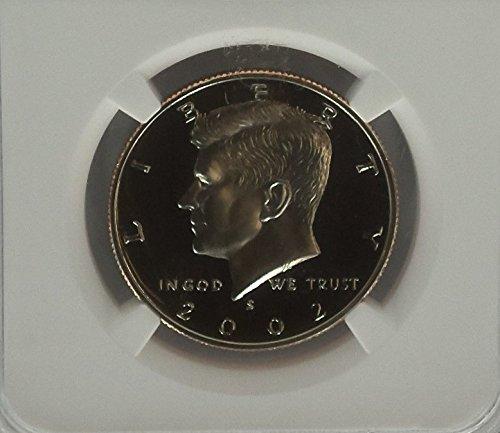 2002 S CLAD 50C Kennedy Ultra Cameo Half Dollar PF-70 NGC