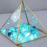 JASHIKA Nature Fluorite Raw Healing Crystal Cluster