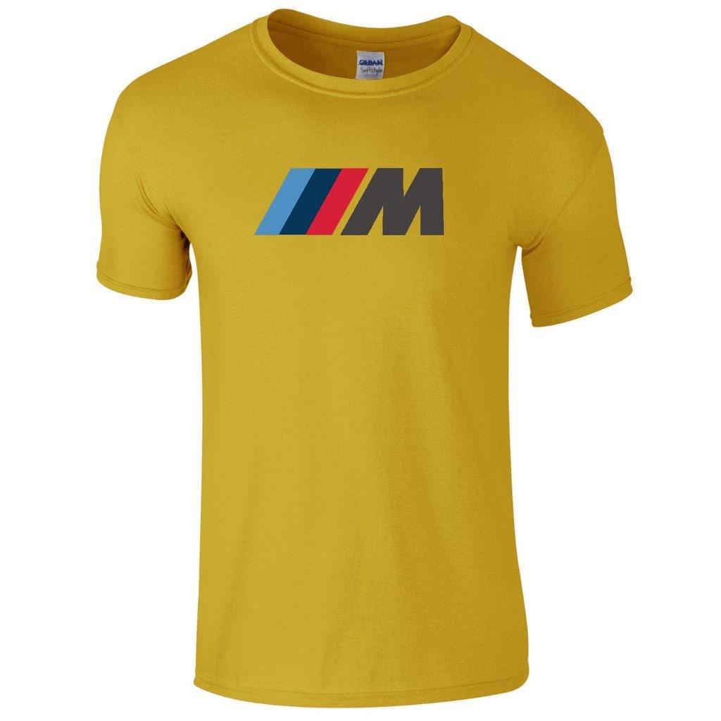 Camiseta para hombre de cuello redondo y manga corta, de BMW M ...