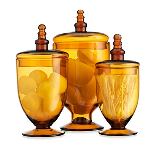 yellow candy jar - 4