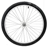 24'' Kids Bike Bicycle Alloy Front Wheel w/ 24 x 1.95 Tire Nutted Axle 36H NEW