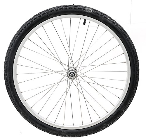 24'' Kids Bike Bicycle Alloy Front Wheel w/ 24 x 1.95 Tire Nutted Axle 36H NEW by None