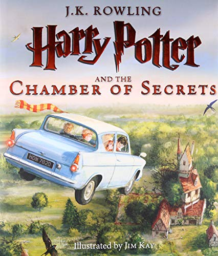 - Toy Store - PRE-ORDER Harry Potter and the Chamber of Secrets: Illustrated Edition Hardcover - New Arrival