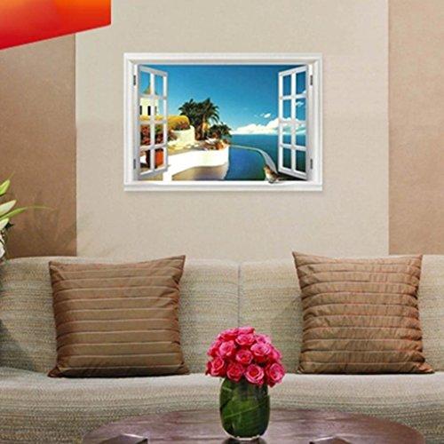 Mediterranean Style Window Sticker Paster