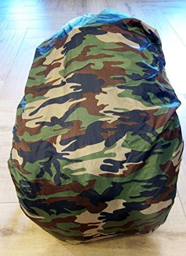 Outdoor saxx/®/ pluie de protection pluie Housse Camouflage tache/ /avec cordon en caoutchouc universel compatible avec sacs /à dos jusqu/à 60/cm Longueur /Camouflage Sac /à dos Housse
