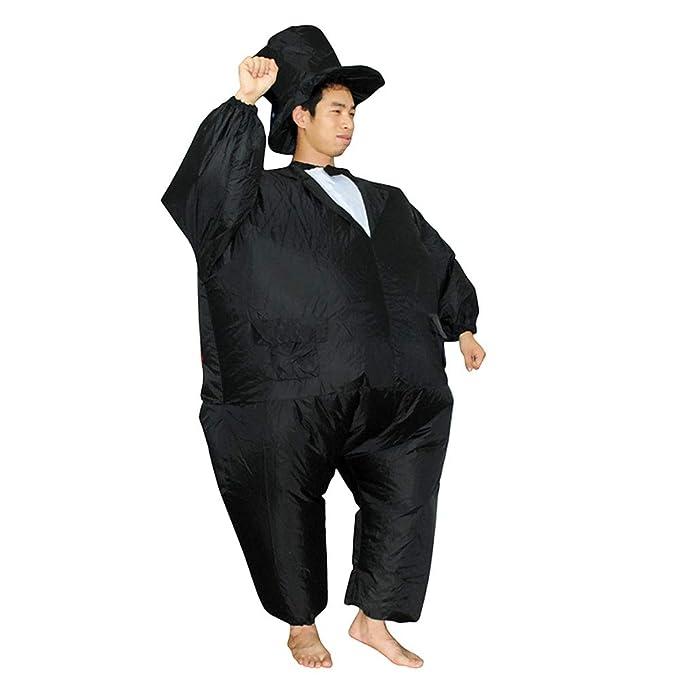 JJAIR Disfraz de Sumo Inflable Lucha Libre Traje Gordo ...