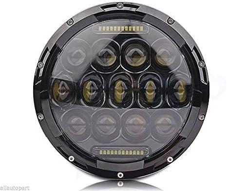 Wildken 7 Zoll 75 Watt Runde Daymaker Led Projektor Motorrad Scheinwerfer Wasserdichte Birne Für Harley Davidson Jeep Wrangler Auto