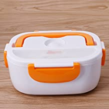 Kocome Portable Lunch Heated Box 220V Electric Heating Truck Oven Cooker Food Warmer (Orange)