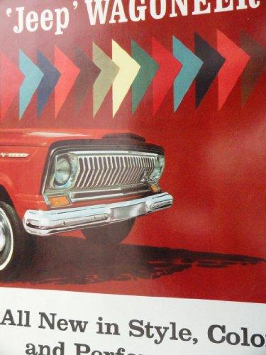 Original 1965 Jeep Wagoneer Sales Brochure