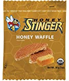 Honey Stinger Organic Waffle, Honey, 1 Ounce (Pack of 16)(Packaging may vary)
