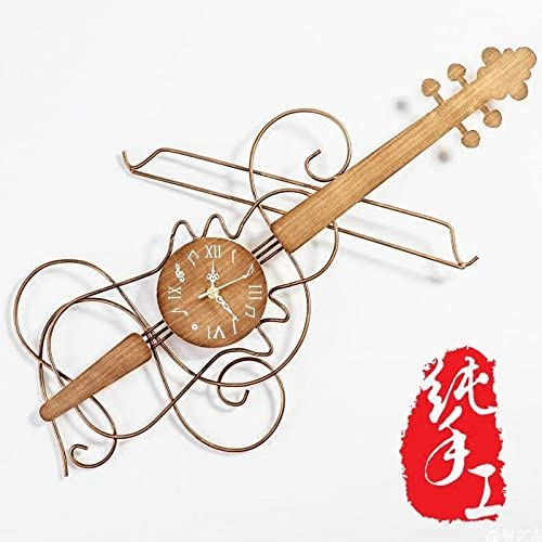 Guitarra de personalidad creativa dibujo nórdico Vintage relojes ...