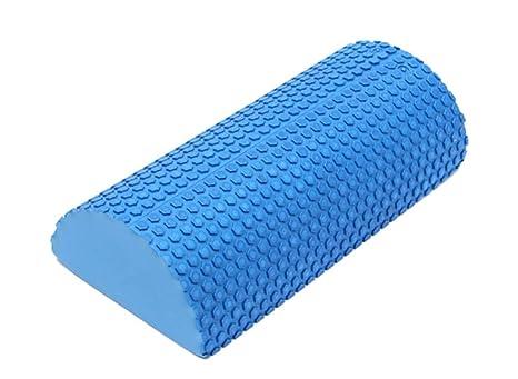 Amazon.com: BallBall Yoga Blocks Blue EVA Foam Half Round ...
