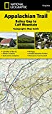 Appalachian Trail, Bailey Gap to Calf Mountain [Virginia] (National Geographic Topographic Map Guide)