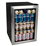 New - EdgeStar 84 Can Beverage Cooler - Stainless Steel by Edgestar