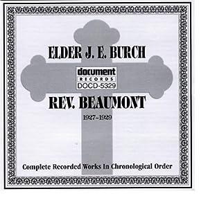 Elder J.E. Burch / Rev. Beaumont