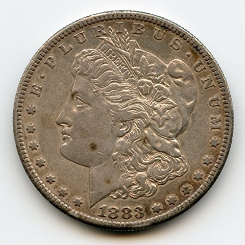 1883 S Morgan Silver Dollar AU-50