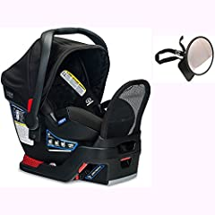 The Endeavours infant car seat is designed for safety and mobility. The anti-rebound bar reduces rebound rotation by up to 30% in the event of a crash. Easily and securely install the car seat with a base or without. The Click & Go system...