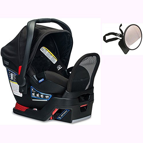 Britax Endeavours Infant Car Seat with Back Seat Mirror – Circa For Sale
