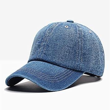 Llxln Gorra De Béisbol Hombres Gorras Snapback Hueso Marca Sombreros Para Mujer Jeans Denim Blanco Casquette Gorras B: Amazon.es: Deportes y aire libre