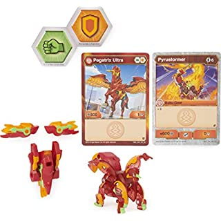 Bakugan Ultra, Pegatrix with Transforming Baku-Gear, Armored Alliance 3-inch Tall Collectible Action Figure