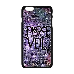 Pierce Vell Design Fashion Comstom Plastic case cover For Iphone 6 Plus
