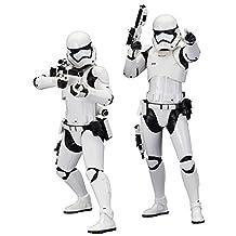 Kotobukiya Star Wars Episode VII, The Force Awakens First Order Stormtrooper, ArtFX Plus Statue, 2-Pack