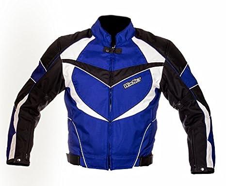 WinNet Chaqueta para moto con protecciones, diseño Kawasaki ...