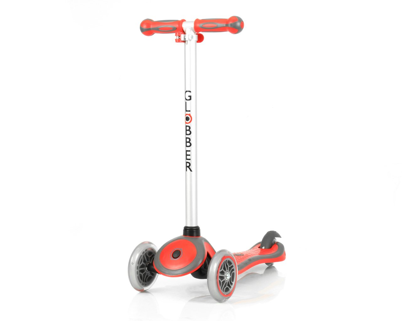 GLOBBER グロッバー PRIMO キックボード 3輪 フットブレーキ  外遊び 子供 乗り物 安全設計 キックスクーター (プラム) WLGB440114 B00PAODRXS ファイアレッド ファイアレッド