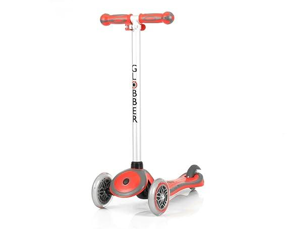 Globber My Free - Patinete de 3 ruedas multicolor Rouge gris: Amazon.es: Deportes y aire libre