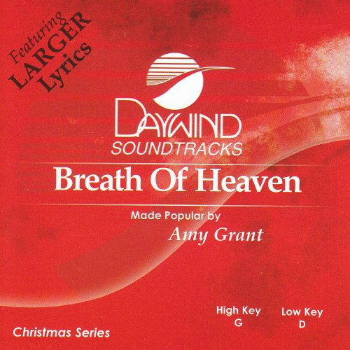Breath Of Heaven [Accompaniment/Performance Track] - Amy Grant Accompaniment Tracks