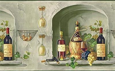 Kitchen Wallpaper Border TM75063