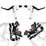 AFTERPARTZ NV-5 G3/ HS1 Bike Disc Brake Kit BB5 Disc Brake Calipers G3 rotors 160mm Front + Rear set + Levers