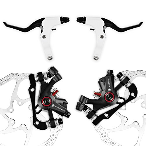 AFTERPARTZ NV-5 G3/ HS1 Bike Disc Brake Kit Front + Rear Rot