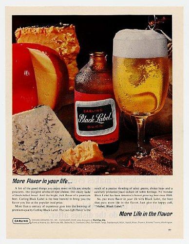 1965-carling-black-label-beer-cheese-original-print-ad-6945