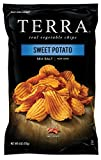 #6: TERRA Sweet Potato Chips, Crinkled with Sea Salt, 6 Ounce (Pack of 12)