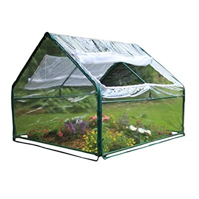 "Zenport SH3214A Greenhouse, 4' by 4' by 36"" from Zenport"
