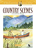 Best Dover Coloring Pencils For Adults - Creative Haven Country Scenes Coloring Book (Adult Coloring) Review
