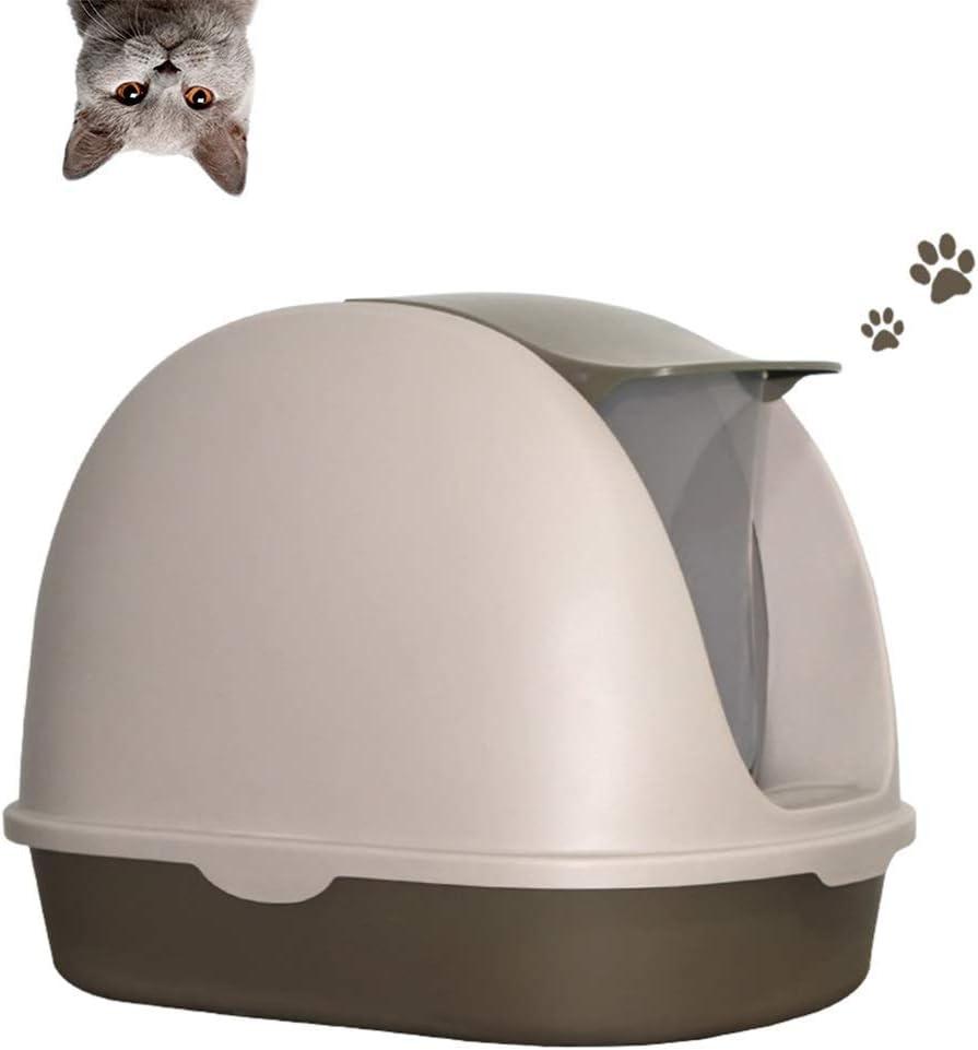 Recipiente for perros grandes de arena for gatos caja de 10 kg gato se puede utilizar, desmontable, fácil de instalar y llevar el gato WC AA-CAT BANDEJA higiénico (Color: Rosa) LOLDF1 (