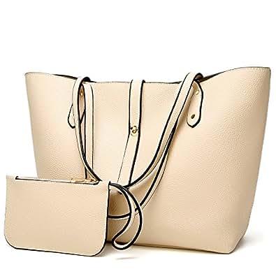 Women Purse Handbags Wallets Bag Set Shoulder Bag Large Tote Bag Top Handle Satchel