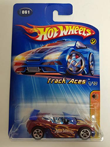 (Trak-Tune Track Aces 1 of 10 2005 Editions Hot Wheels diecast car No. 061)