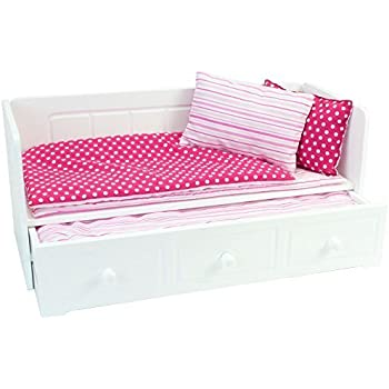 Amazon Com Fits American Girl Doll Bunk Bed Amp Desk Combo